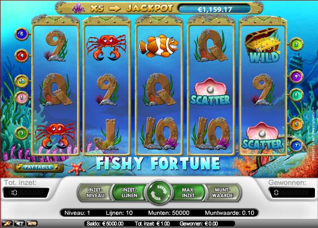 Review van de Fishy Fortune gokkast van Netent