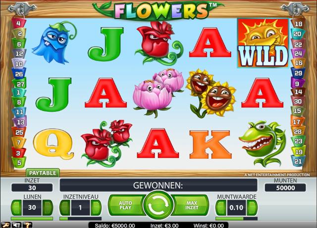 Speel gratis de flowers gokkast