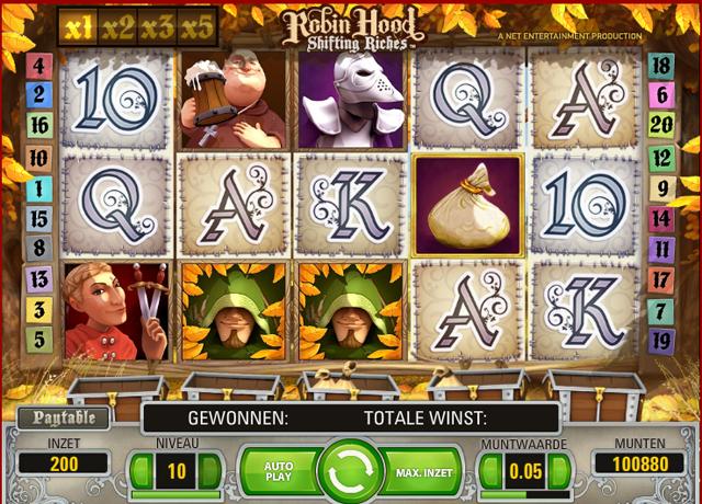 Review van de Robin Hood Gokkast van Netent
