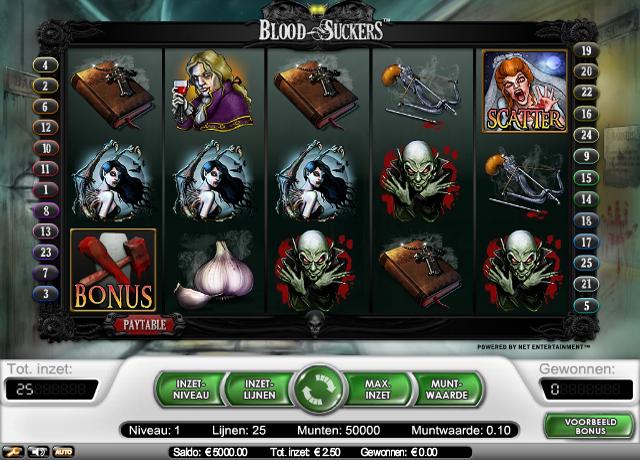Speel de bloodsuckers videoslot en lees de review