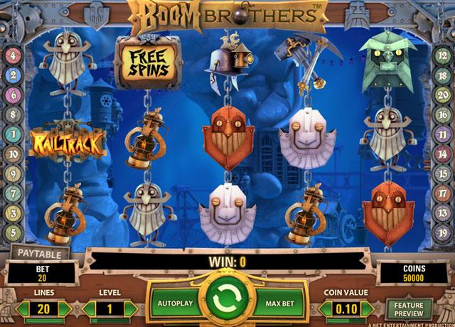 De review van de Boom Brothers gokkast van Kroon Casino