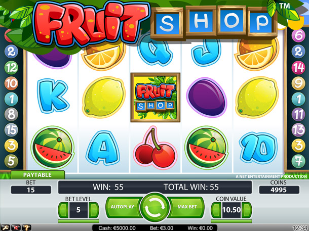 Fruit shop gokkast