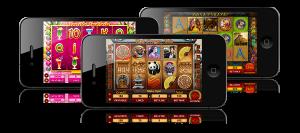 Iphone gokkasten voorbeeld scherm