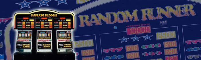 Die Random Runner kan tegenwoordig ook met inzet 40 gespeeld worden en de hoogste prijs is 1000 punten i.p.v. 200!